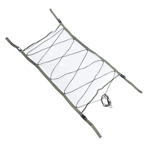 DAUERHAFT Bolsa de Almacenamiento Ligera para Acampar multifunción, para Techo Interior de Coche(Camping Storage Bag)