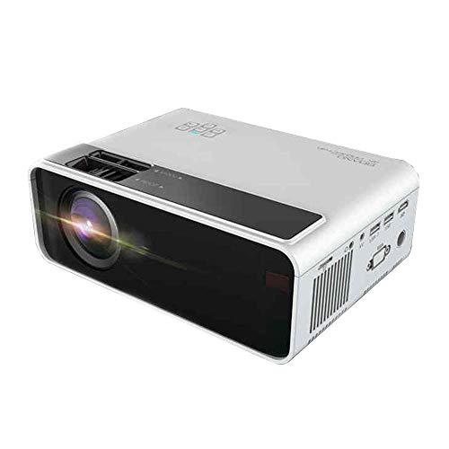 Mini proyector portátil Misma Pantalla de proyector Proyector inalámbrico 4K Ultra HD Imagen Moldeada Bluetooth Sistema WiFi Pared Mini Cine en casa LMMS ( Color : - )