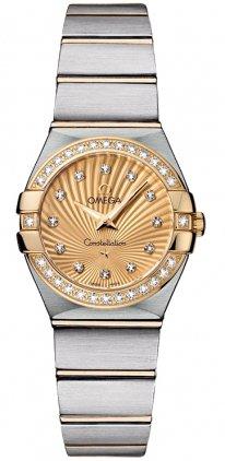 Omega Constellation Ladies Mini Watch 123.25.24.60.58.001