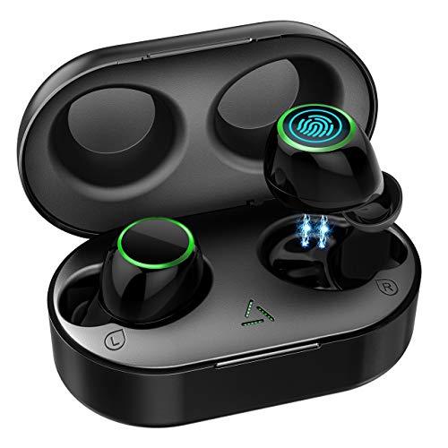 【Nuevo Versión】Auriculares Inalambricos Bluetooth 5.0, Auriculares Bluetooth...