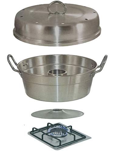 ALUMINUM WONDER POT Slow Cooker, 3 Quart, Oven Bakeware Cookware, Cooking Baking Cake Bread On Stove Top Gas, Made In Italy (Gas Not Included)