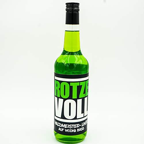 rotzevoll ® Waldmeister Likör auf Wodka Basis 0,7l Flasche 15% vol. rotze voll - 9