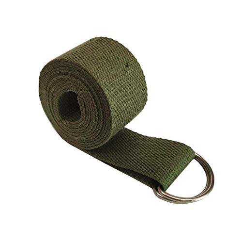 Cinturón de Yoga de 6 pies, Ejercicio Duradero de algodón