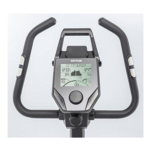 KETTLER - GIRO S3 BLACK - Vélo d'appartement + récepteur wireless