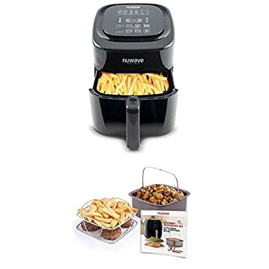Nuwave 6 qt. Brio Air Fryer with 4 pc. accessory Kit