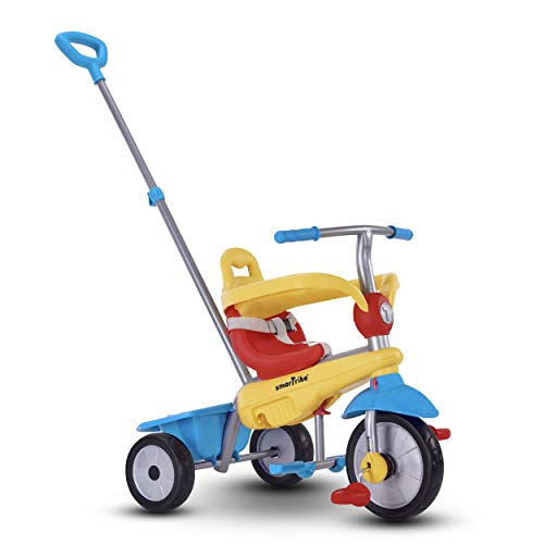 Smart Trike 609-0400 Kinderdreira Breeze, gelb/blau/rot