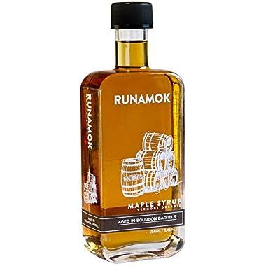 Runamok Maple Syrup - Bourbon Barrel-Aged Maple Syrup - 250mL