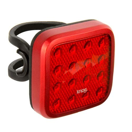 Knog Blinder MOB Kid Grid–Luz Trasera Rojo rojo