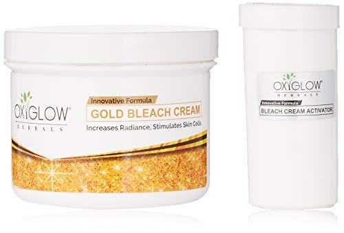 Oxyglow Gold Bleach Cream and Bleach Cream Activator, 240 g