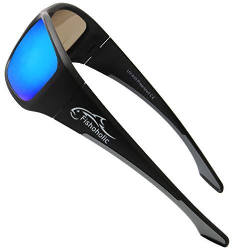 Fishoholic Pro Series Polarized Fishing Sunglasses - 5 Colors - L/XL -...