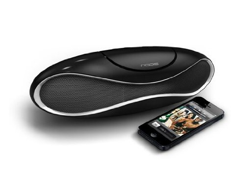 NODIS Eclipse Sound Box Speaker Bluetooth oplaadbaar zwart