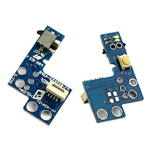 Placa de circuito de encendido y apagado de repuesto compatible con PS2 90000 Slim & Lite Power On Off placa de circuito compatible con PS2 90000