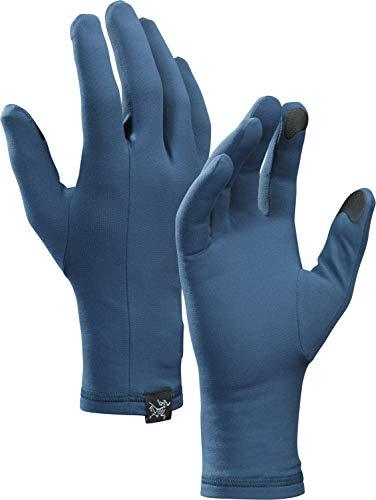 Arc'teryx Handschuhe Rho Glove Unisex Erwachsene L Blau (Hecate Blue)