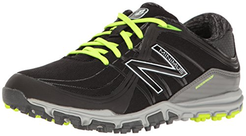New Balance Women's nbgw1005 Golf Shoe, Black/Lime, 7.5 B US