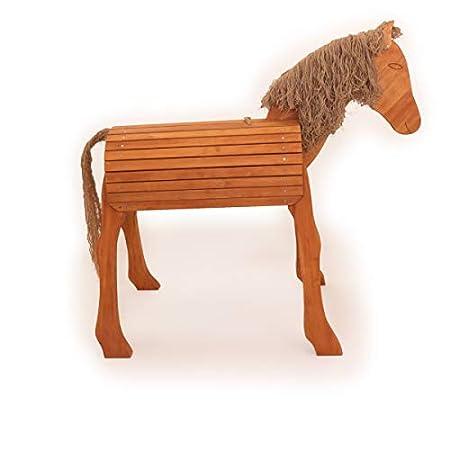 Holz-Voltigierpferd