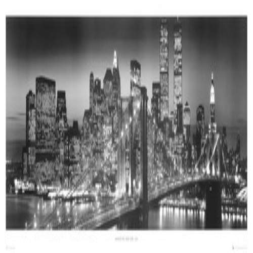Empire Poster New York Manhattan Pas de Cadre