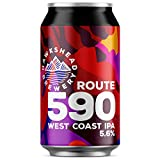Hawkshead Route 590 West Coast IPA Cans, 12 x