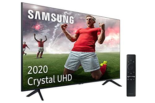 """Samsung UHD 2020 55TU8005 - Smart TV de 55"""" 4K, HDR 10+, Crystal Display, Procesador 4K, PurColor, Sonido Inteligente, One Remote Control y Asistentes de Voz Integrados, con Alexa integrada"""