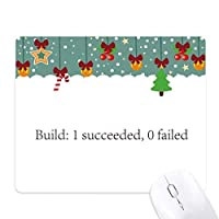 ビルドプログラムプログラマインタフェース ゲーム用スライドゴムのマウスパッドクリスマス