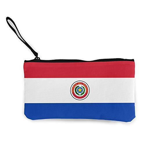 パラグアイの国旗 レディース メンズ 財布 長財布 コインケース 小銭入れ 収納 大容量多機能 軽量 カード収納 小型財布 携帯に便利である 人気 ラウンドファスナー カモフラ