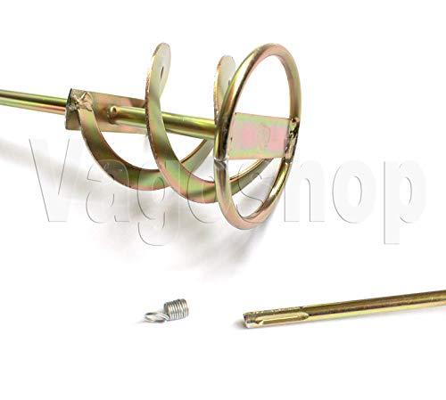 Kleurmixer 80 x 400 mortelmixer verfbreker garen roerstaaf mixer SDS Plus