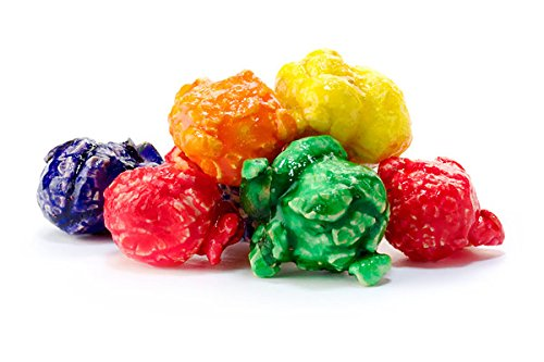 Buy 2+ Gallons - Rainbow Fruit Gourmet Popcorn - Hand crafted with Real Ingredients & No Preservativ...