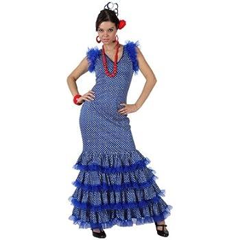 Atosa - Disfraz de sevillana para hombre, talla 38-40 ...