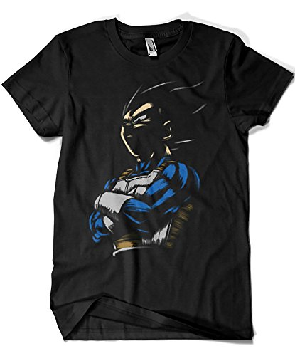 1575-Camiseta Dragon Ball - Vegeta - The Proud Prince (Legendary P,) M