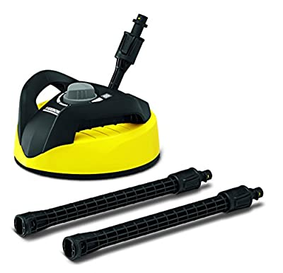 Karcher T300 Hard Surface Cleaner Electric Power Pressure Washers (Deck, Driveway, Patio, Tool Accessory)