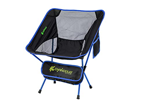 Portable Camping Chair - Compact Ultralight Folding Backpacking Chairs,...
