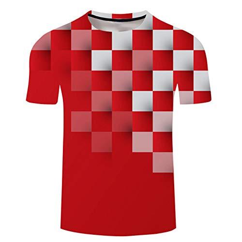 SSBZYES Camiseta para Hombre Camiseta De Verano De Manga Corta para Hombre Camiseta con Cuello Redondo para Hombre Camiseta con Estampado De Moda para Hombre Camiseta De Gran Tamaño para