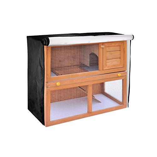 TUYU Rubbit Abdeckung für Kleintierstall, wasserdicht und staubdicht, Abdeckung für Käfige, Katzen, Hamster, Kätzchen, Haustier-Zubehör 1911CWL0201