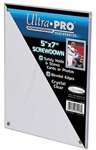 Ultra Pro 5 x 7 Card Holder - Screwdown - Photo Holder