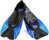 Best Kids Swim Fins - WADEO Snorkel Fins, Swim Fins Short Adjustable Review