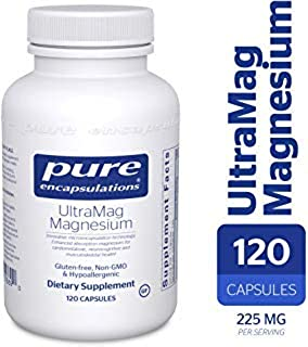 Pure Encapsulations - UltraMag Magnesium - Enhanced Absorption Magnesium for Cardiometabolic, Neurocognitive and Musculoskeletal Health* - 120 Capsules