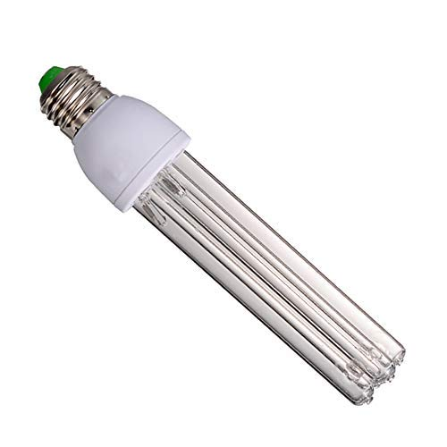 DFBGL UV Sterilizer Light,15W/20W Ozone Germicidal UV lamp tube, Portable disinfection Lamp For Car Household School Hotel Pet Area