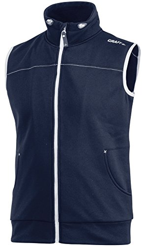 Craft Veste de vêtements de Sport Leisure Gilet Ct041/1903078 Noir Medium Moyen Bleu Marine