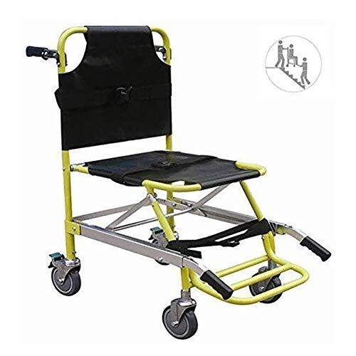 LRX Transferhilfen Treppen-Schiebebrett Leichtgewichtler Stair Chair Aluminium Ambulance Feuerwehrmann Evakuierung Medizinischer Aufzug Treppen Stuhl mit Schnellverschlüssen