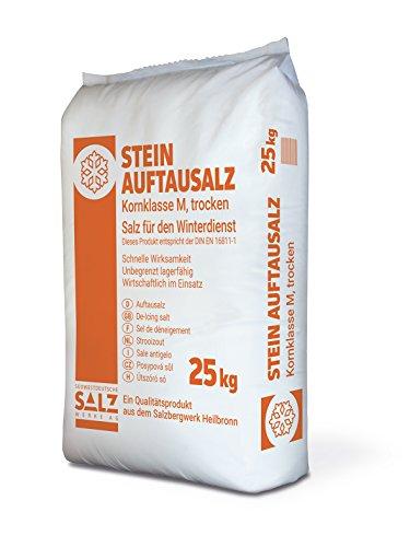 Streusalz / Stein-Auftausalz / Auftausalz 25 kg