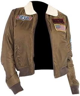 KAAZEE Mens and Womens Top Gun Costume Tom Cruise Pete Maverick Jacket Halloween Costumes Collection Halloween Jackets