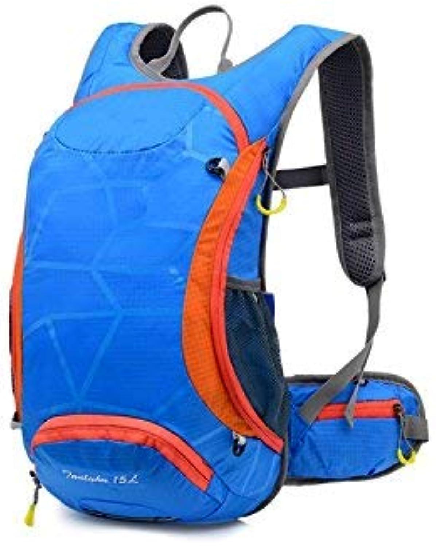 XINSU Home Outdoor und Indoor Outdoor Ultraleicht atmungsaktiv Kletterrucksack Wanderrucksack (blau)