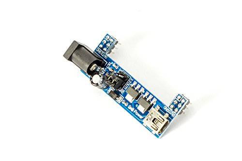 Preisvergleich Produktbild Mini Breadboard Adapter blau oder rot mit Spannungsregler 3, 3 / 5V für Arduino Raspberry Pi