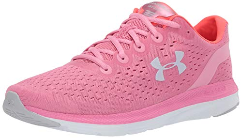 Under Armour Damen Charged Impulse Laufschuh, Rot (Lippenstift (602)/Weiß), 43 EU