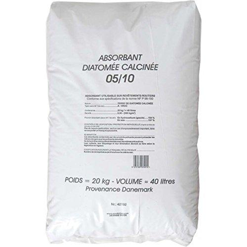 Eco-conseils® - Terre de diatomée Alimentaire (pour Animaux) 1Kg à 20kg- Protecteur et Insecticide Alimentaire Biologique - Emballage 100% écologique … (Flacon 400 GR)