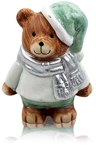 CHICCIE Figurine de Sapin de Noël Marvin Différentes Tailles, Céramique, (HxBxT) ca. 9cm x 7cm x 5cm