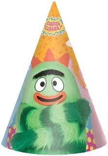 Yo Gabba Gabba! Cone Hats (8ct)