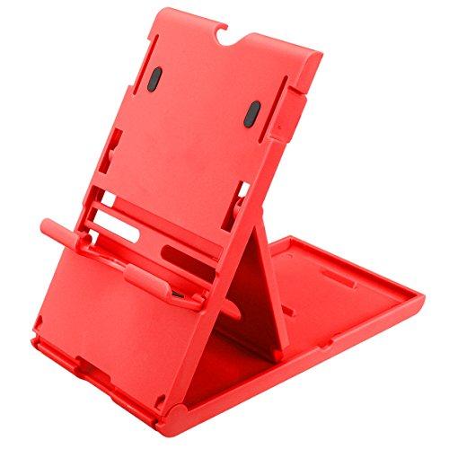 GOZAR Blauw Rood Verstelbare Houder Ondersteuning Stand Frame Beugel voor Nintendo Switch