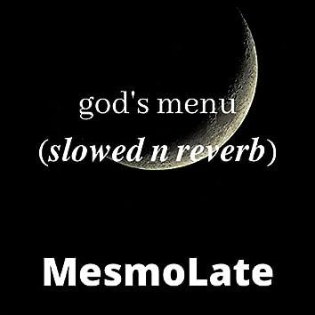 God's menu