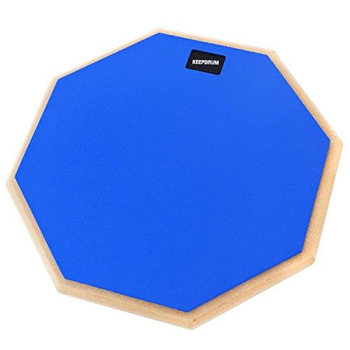keepdrum DP-BL12 Practice Pad Blau Schlagzeug Übungspad 12 Zoll