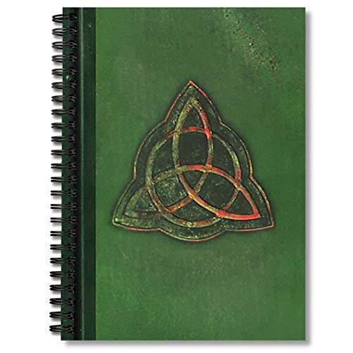 Spiral Notebook Book Of Shadows Charmed Triquetra Design Composition Notebooks Journal With Premium Thick Body Measurements Tracker Paper